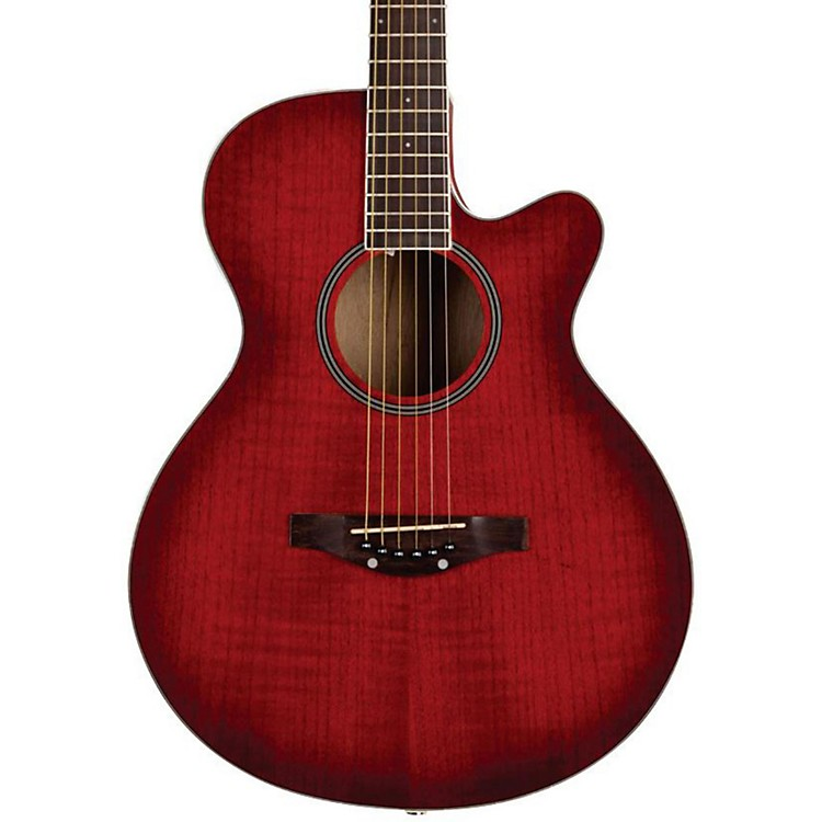Daisy RockSophomore Cutaway Acoustic GuitarLovin' Red
