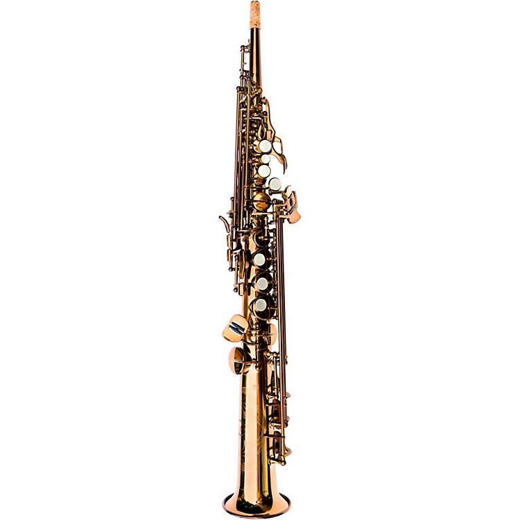 MACSAXSoprano SaxophoneDark Gold Lacquer