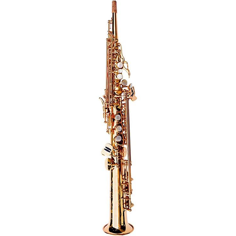 MACSAXSoprano SaxophoneHoney Gold Lacquer