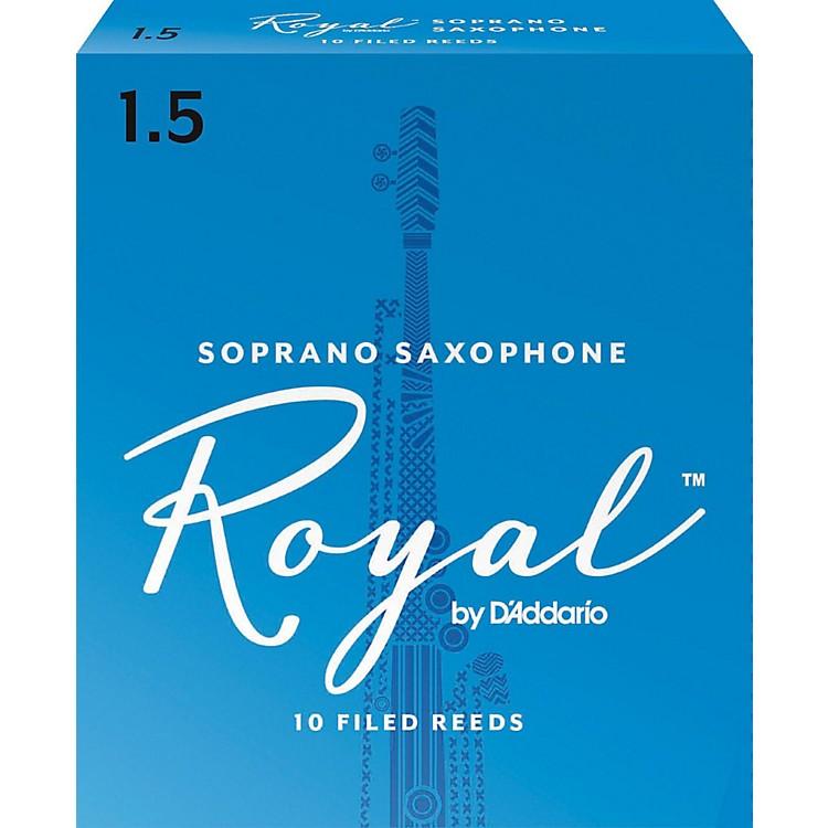 Rico RoyalSoprano Saxophone Reeds, Box of 10Strength 1.5