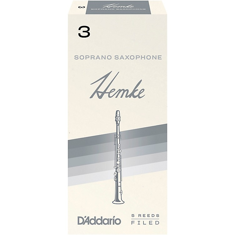 Frederick Hemke Soprano Saxophone Reeds Strength 3 Box of 5