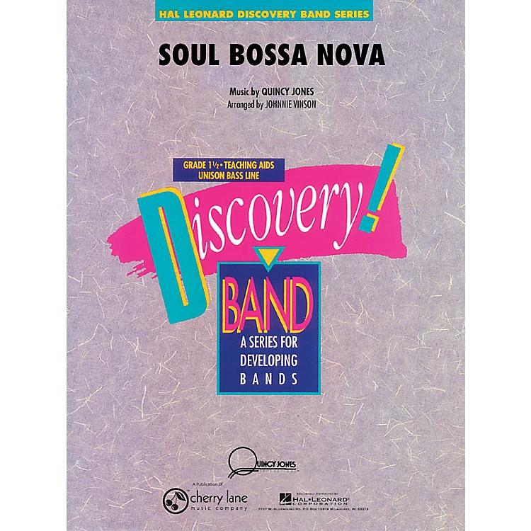 Cherry LaneSoul Bossa Nova Concert Band Level 1.5 Arranged by Johnnie Vinson