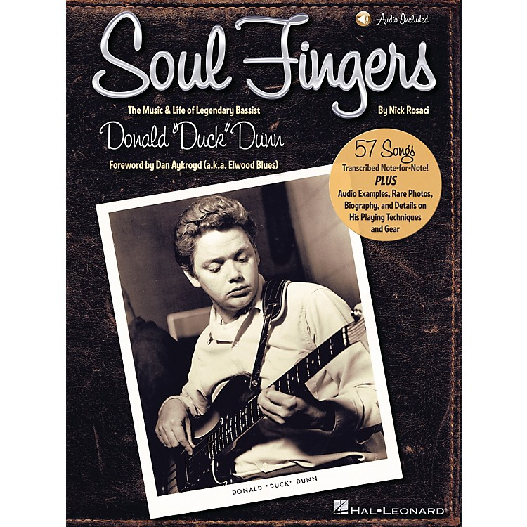 Hal LeonardSoul Fingers Bass Series Softcover Audio Online Written by Nick Rosaci