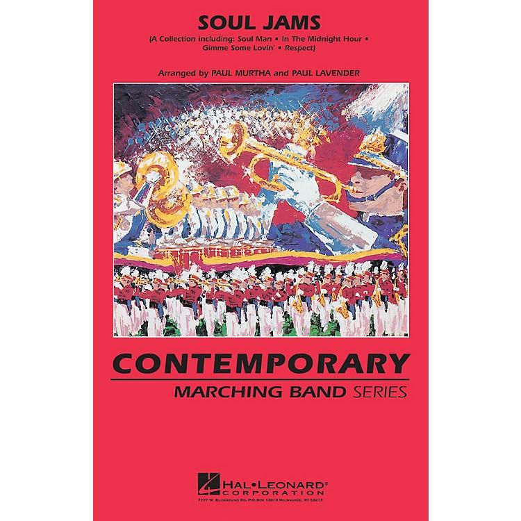 Hal LeonardSoul Jams Marching Band Level 3 Arranged by Paul Lavender