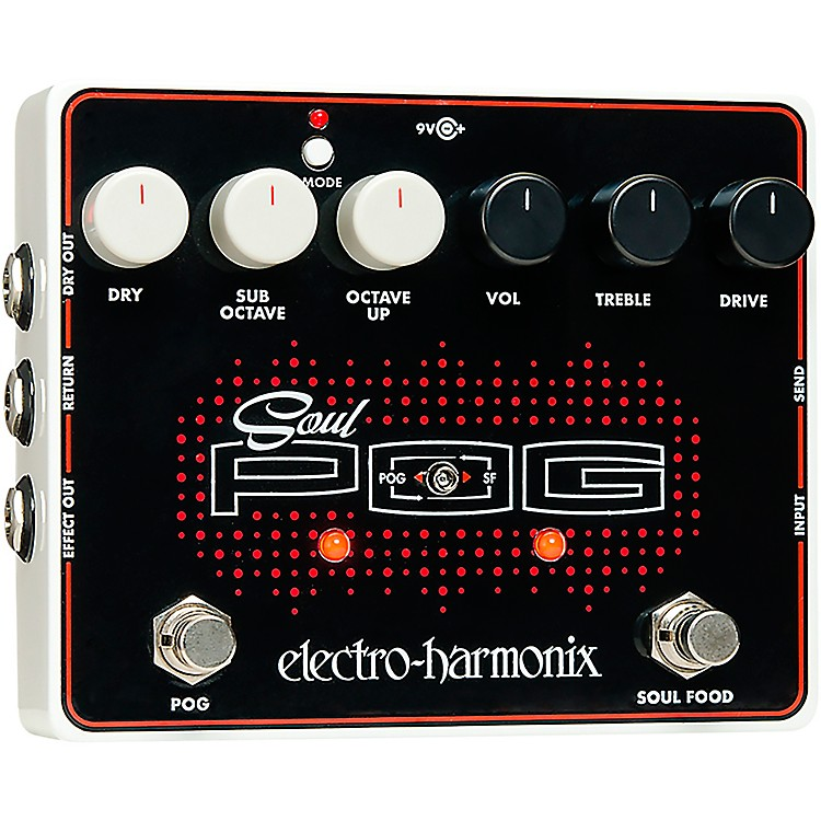 Electro-HarmonixSoul POG Multi-Effects Guitar Pedal
