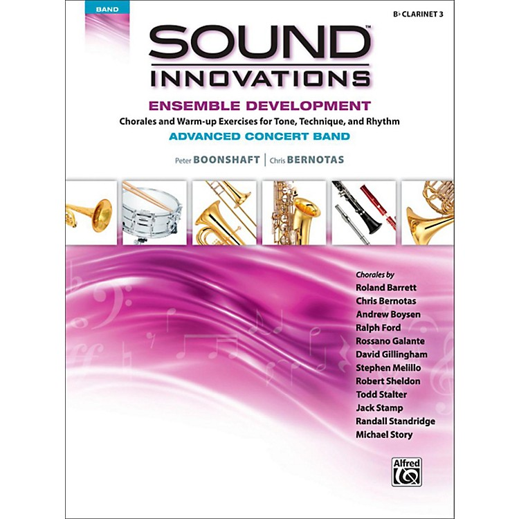 AlfredSound Innovations Concert Band Ensemble Development Advanced Clarinet 3