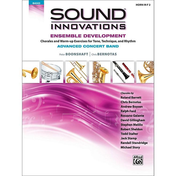 AlfredSound Innovations Concert Band Ensemble Development Advanced French Horn 2