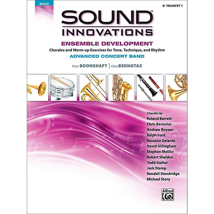 Alfred Sound Innovations Concert Band Ensemble Development Advanced Trumpet 1