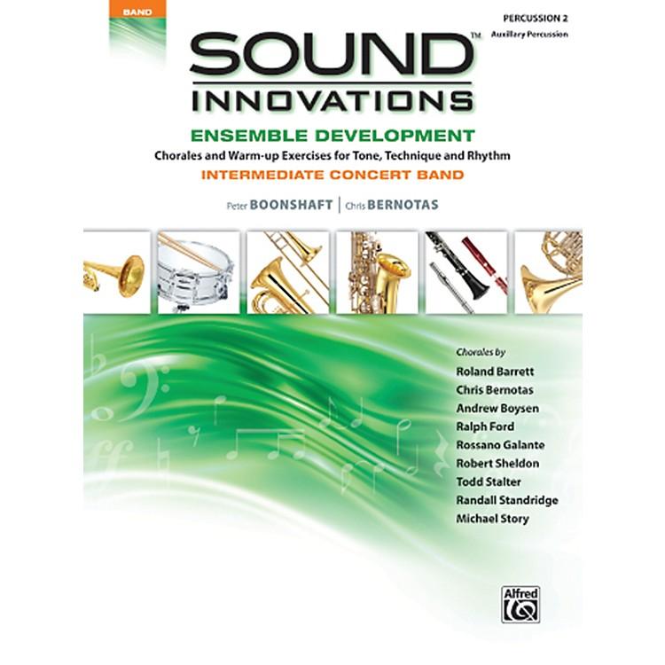 AlfredSound Innovations Concert Band Ensemble Development Percussion 2 Book