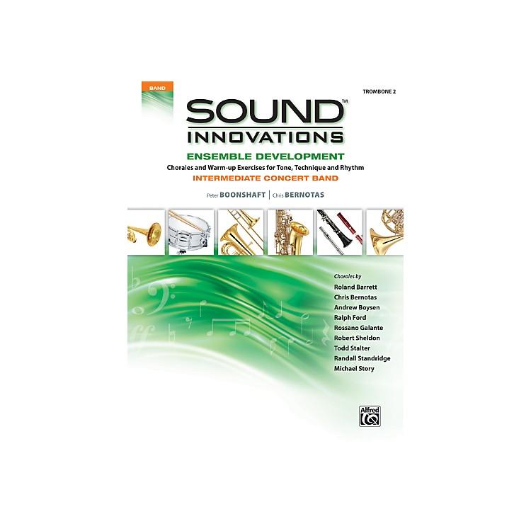 AlfredSound Innovations Concert Band Ensemble Development Trombone 2 Book