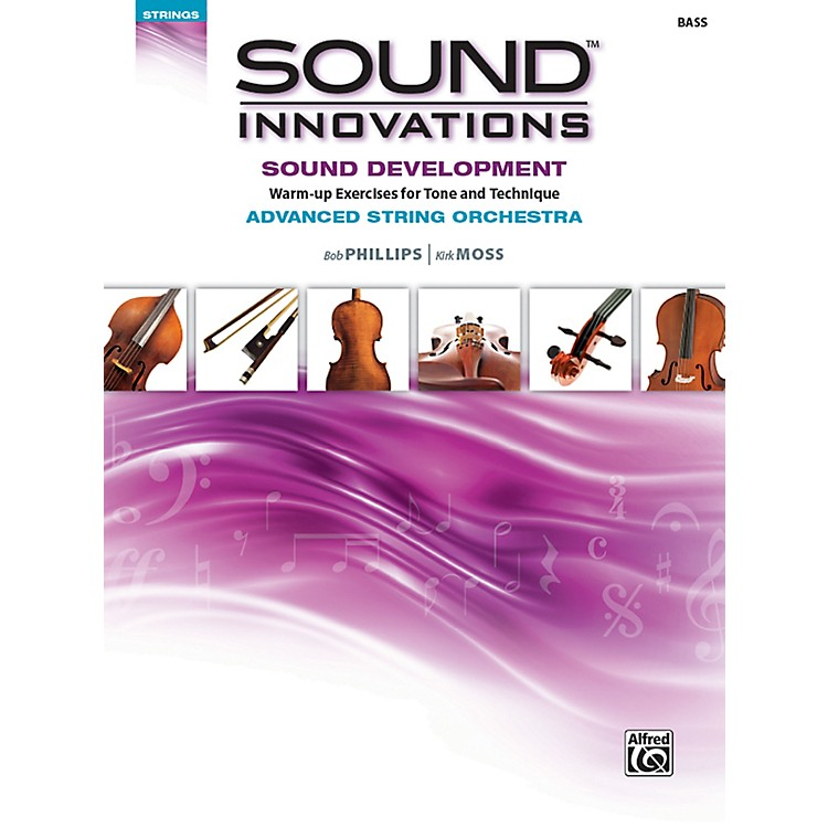 AlfredSound Innovations String Orchestra Sound Development Advanced Bass Book