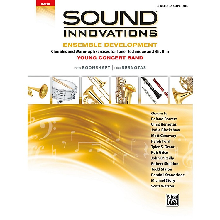 AlfredSound Innovations for Concert Band - Ensemble Development for Young Concert Band Alto Saxophone