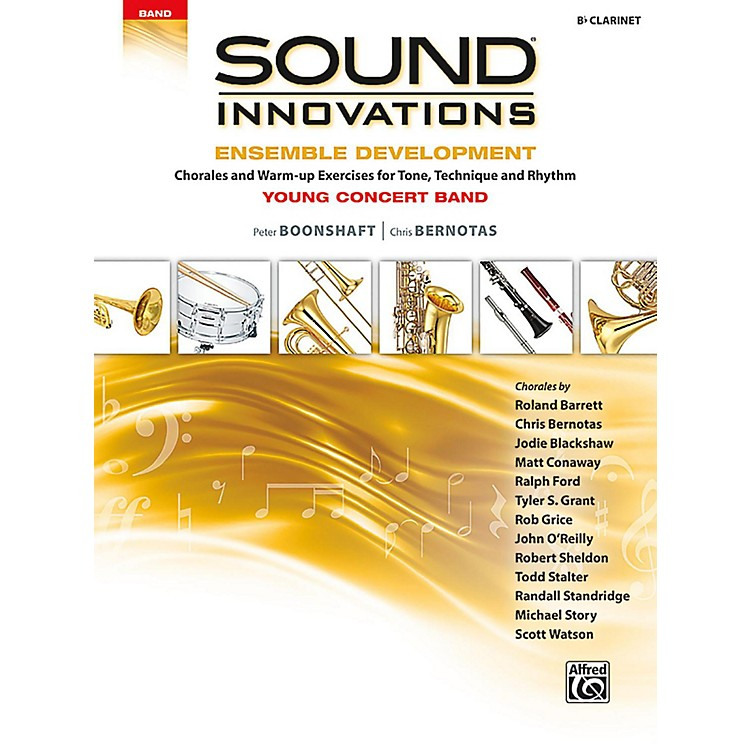 AlfredSound Innovations for Concert Band - Ensemble Development for Young Concert Band Clarinet