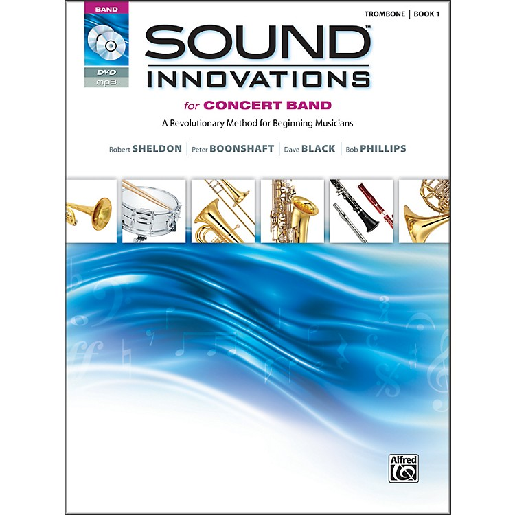 AlfredSound Innovations for Concert Band Book 1 Trombone Book CD/ DVD