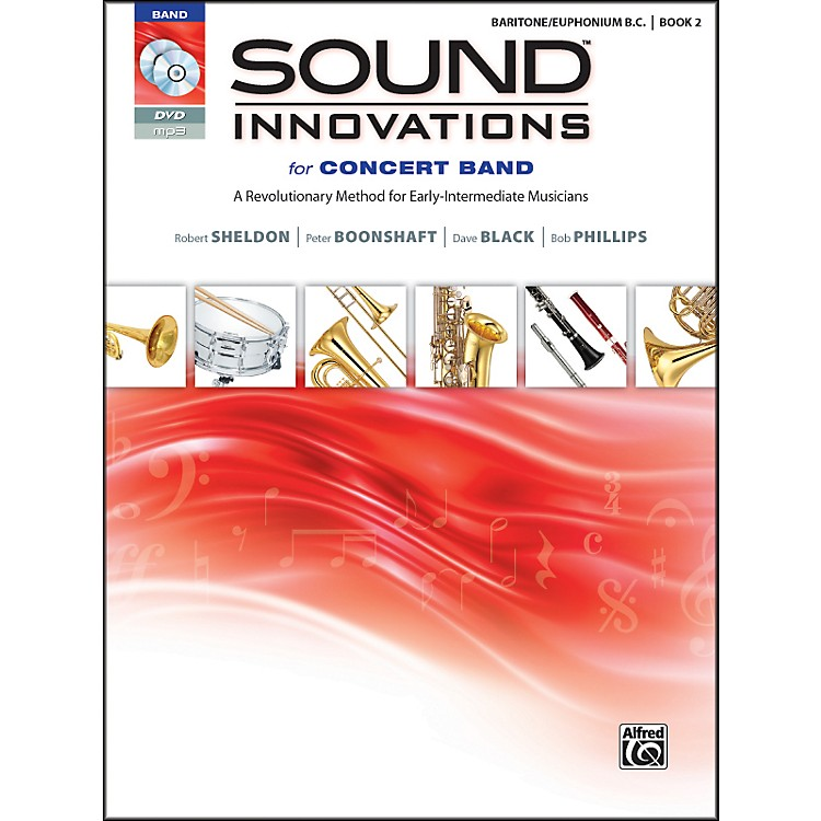AlfredSound Innovations for Concert Band Book 2 Baritone B.C. Book CD/DVD