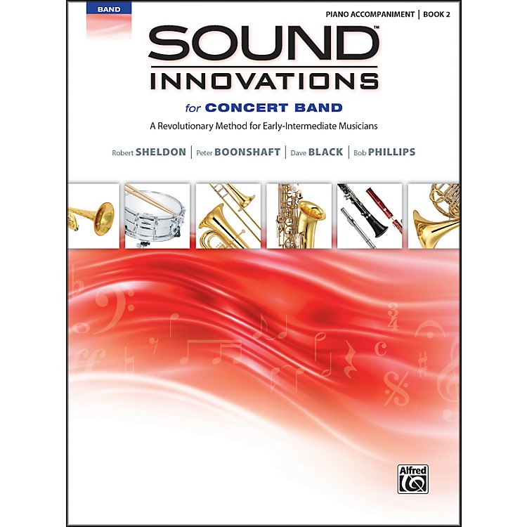 AlfredSound Innovations for Concert Band Book 2 Piano Acc. Book