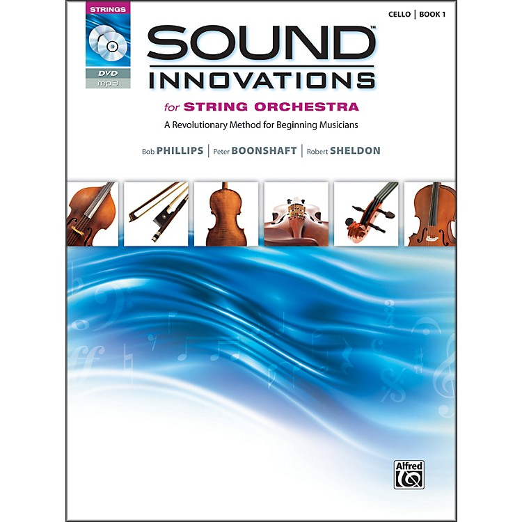 AlfredSound Innovations for String Orchestra Book 1 Cello Book CD/ DVD
