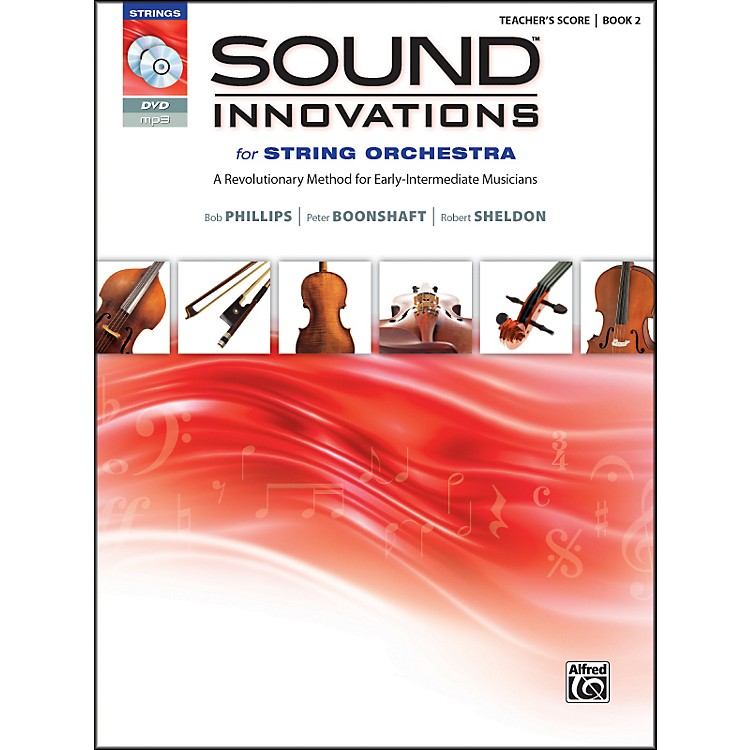 AlfredSound Innovations for String Orchestra Book 2 Conductor's Score Book CD/DVD
