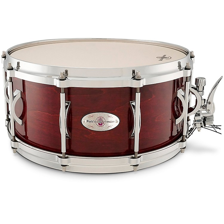 Black Swamp Percussion SoundArt Maple Shell Snare Drum Cherry Rosewood, 14 x 6.5 in. 190839444622