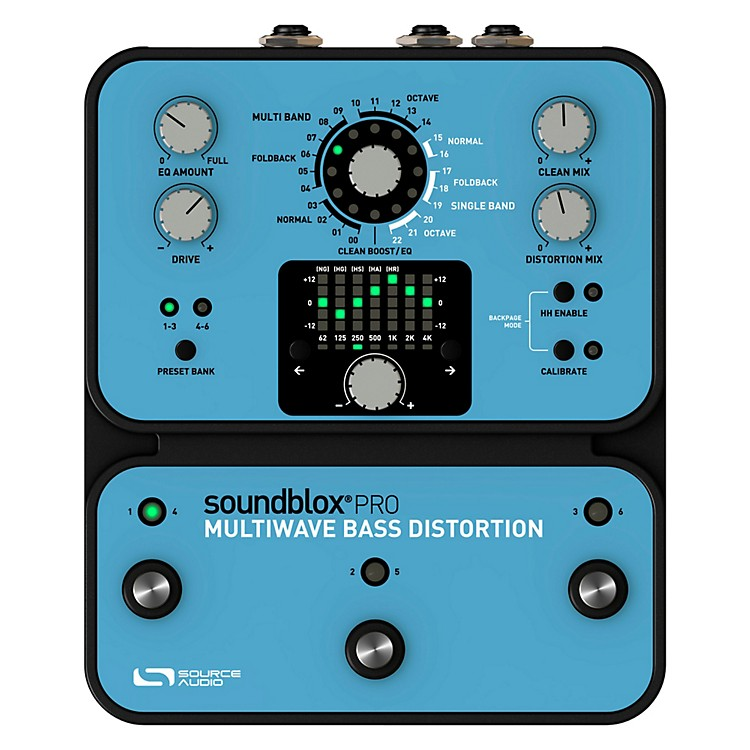 Source Audio Soundblox Pro Multi Wave Bass Distortion