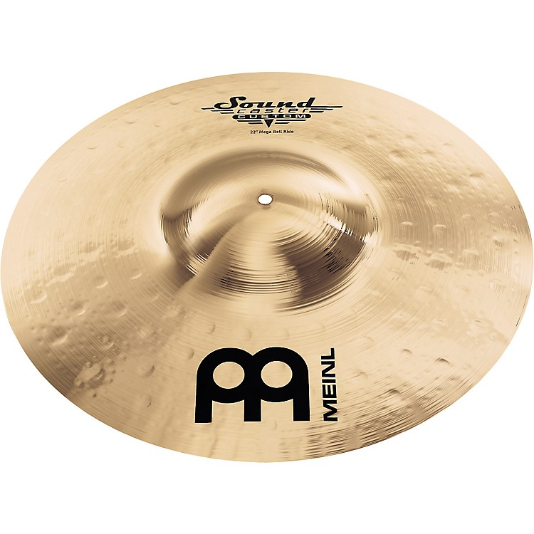 Meinl Soundcaster Custom Mega Bell Ride Cymbal 22 in.
