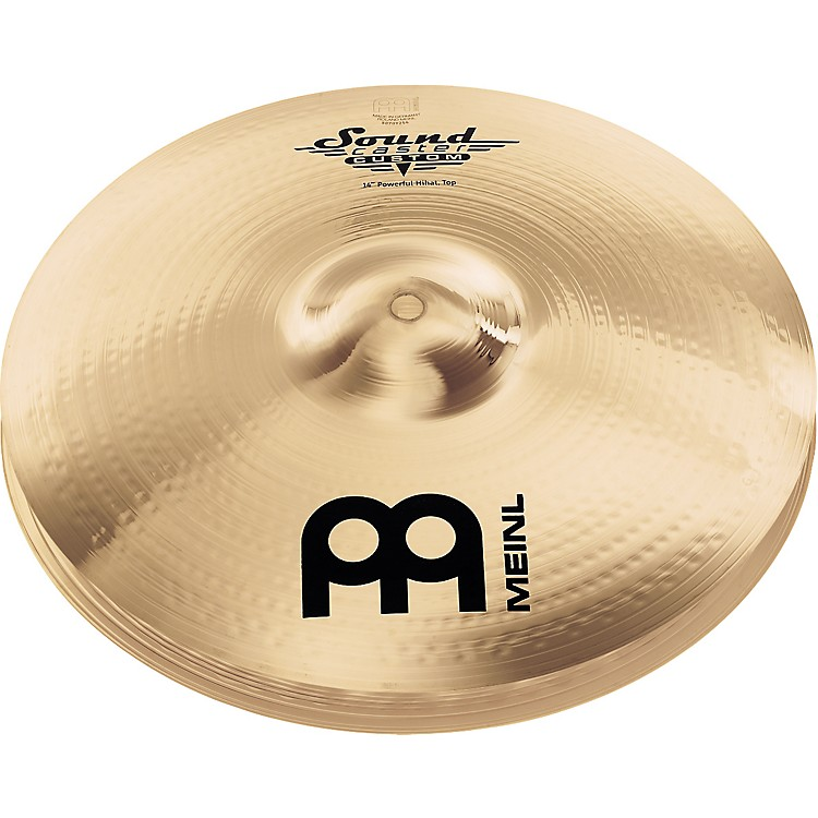 Meinl Soundcaster Custom Powerful Hi-Hat Cymbals 14 in.