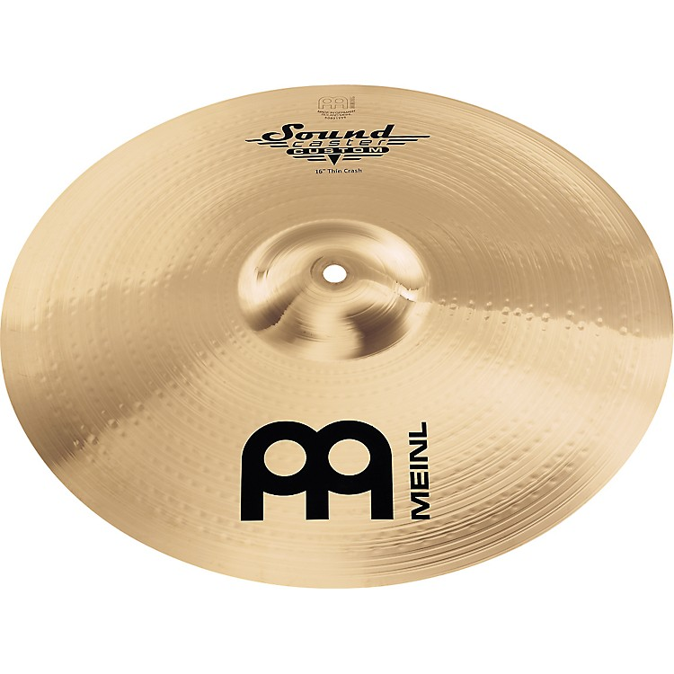Meinl Soundcaster Custom Thin Crash Cymbal 16 in.