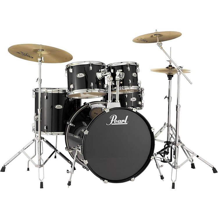 Pearl Soundcheck Complete 5-pc. Drum Set with Hardware and Zildjian Planet Z Cymbals