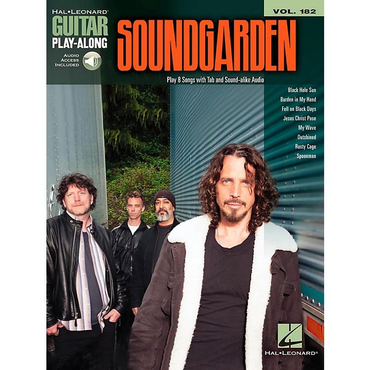 Hal LeonardSoundgarden - Guitar Play-Along Vol. 182 Book/Online Audio