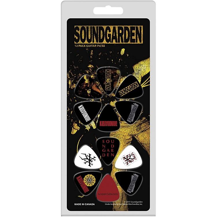 Perri'sSoundgarden Medium Gauge Guitar Pick12 Pack