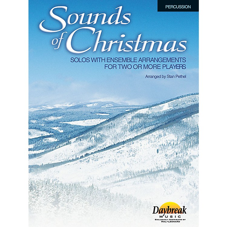 Daybreak MusicSounds of Christmas (Solos with Ensemble Arrangements for Two or More Players) Percussion