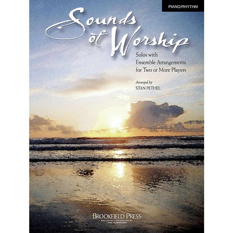 Brookfield Sounds of Worship Piano/Rhythm arranged by Stan Pethel