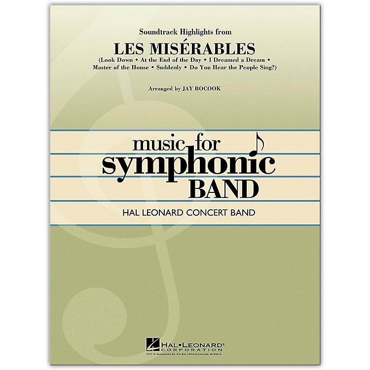 Hal LeonardSoundtrack Highlights from Les Miserables concert band level 4