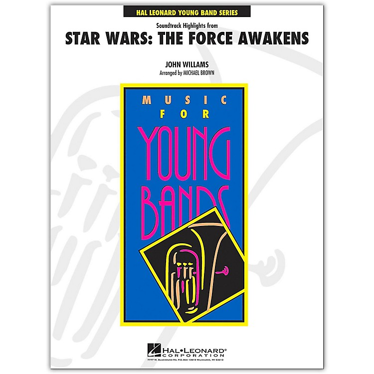 Hal LeonardSoundtrack Highlights from Star Wars: The Force Awakens Young Concert Band Level 3