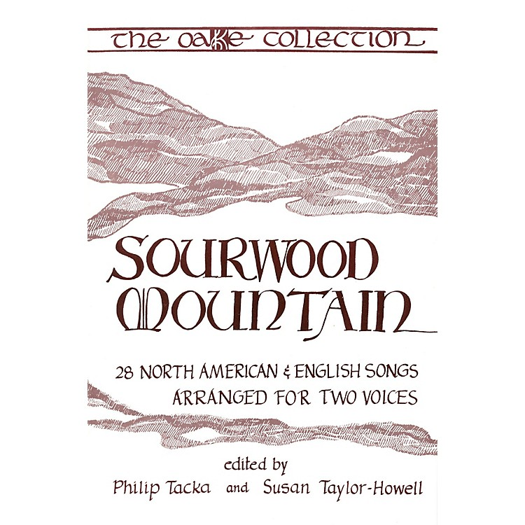 Boosey and Hawkes Sourwood Mountain (28 North American & English Songs arranged for Two Voices) 2-Part by Philip Tacka
