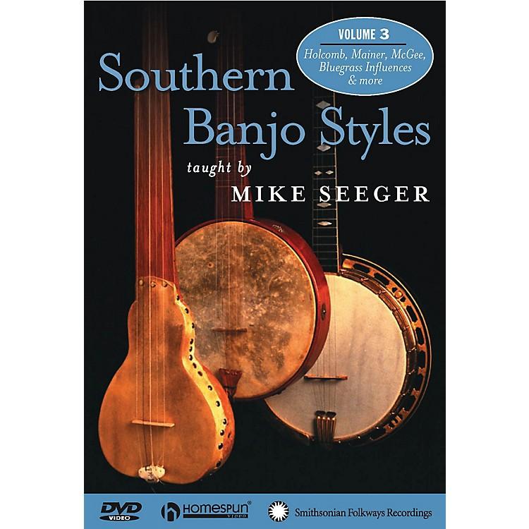 HomespunSouthern Banjo Styles (DVD Three) DVD/Instructional/Folk Instrmt Series DVD