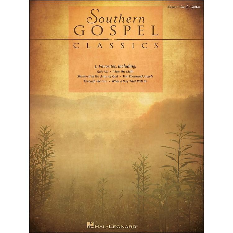 Hal LeonardSouthern Gospel Classics arranged for piano, vocal, and guitar (P/V/G)