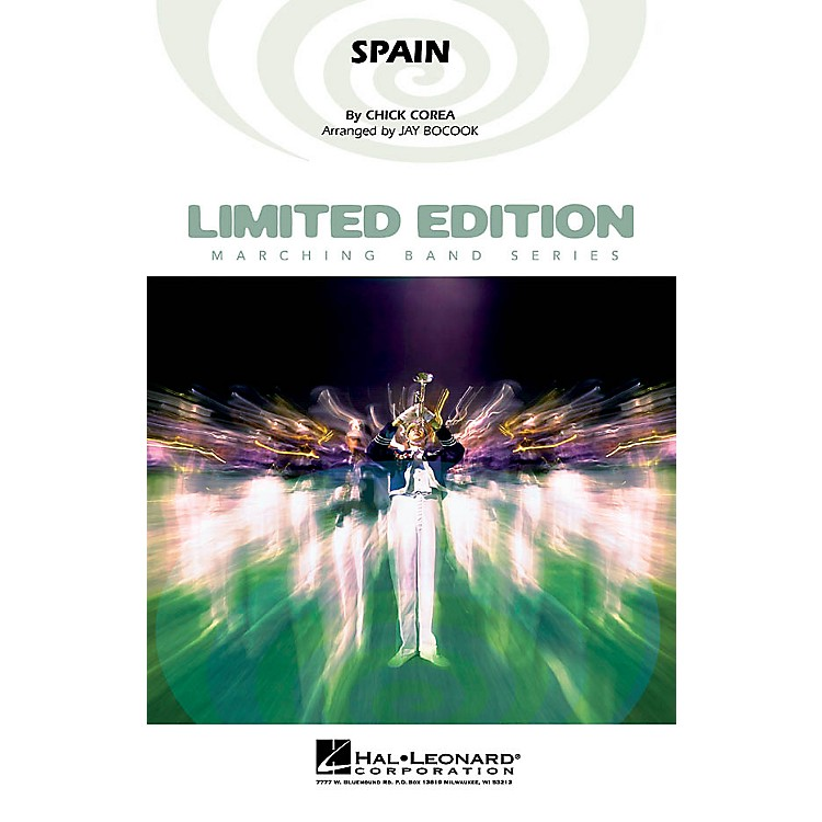 Hal Leonard Spain Marching Band Level 5 Arranged by Jay Bocook