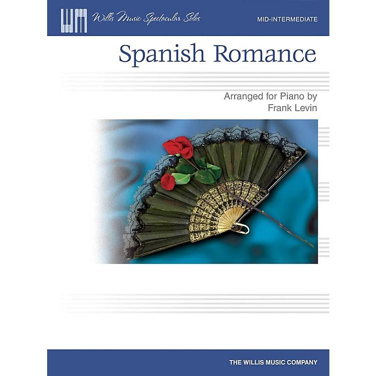 Willis MusicSpanish Romance (Mid-Inter Level) Willis Series by Traditional