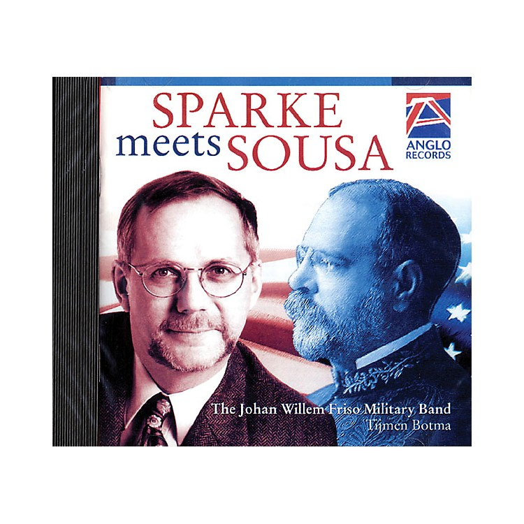 Anglo Music PressSparke Meets Sousa (Anglo Music Press CD) Concert Band Arranged by Philip Sparke
