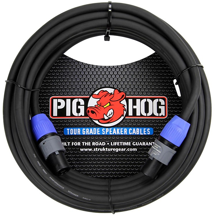 Pig Hog Speaker Cable SPKON to SPKON (100 ft.) 25 ft.