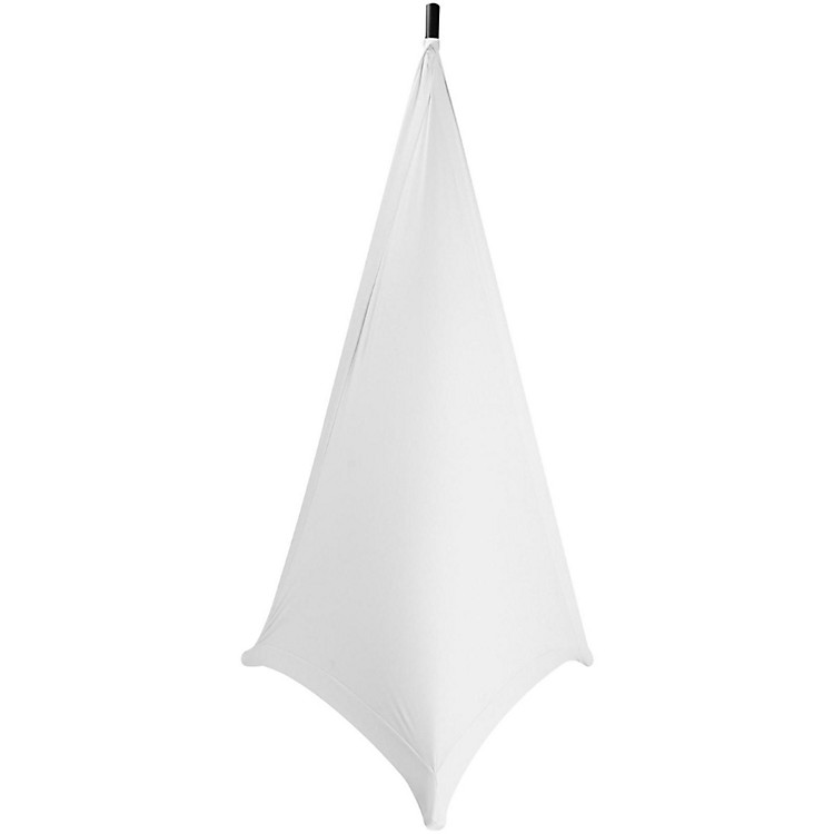 On-Stage Stands Speaker/Lighting Stand Skirt, White