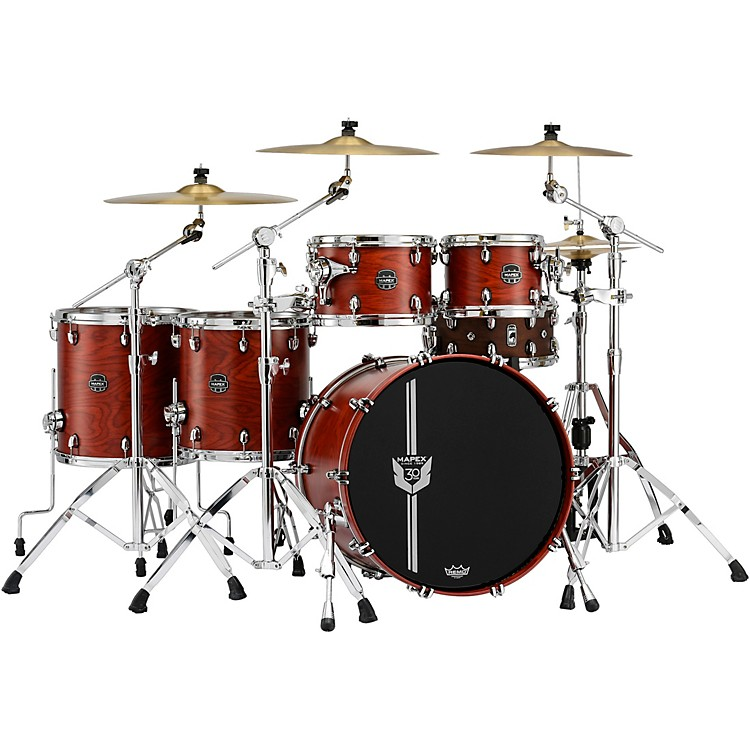 MapexSpecial Edition 30th Anniversary 5-Piece Shell PackGarnet Flame
