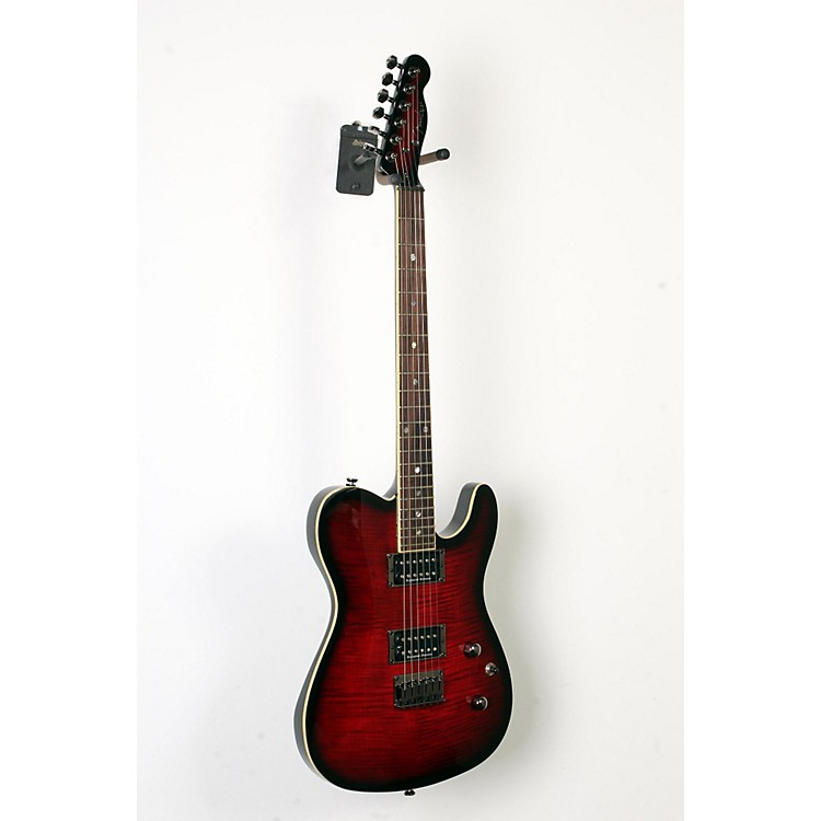 Fender Special Edition Custom Telecaster FMT HH Electric Guitar Black Cherryburst 888365894324
