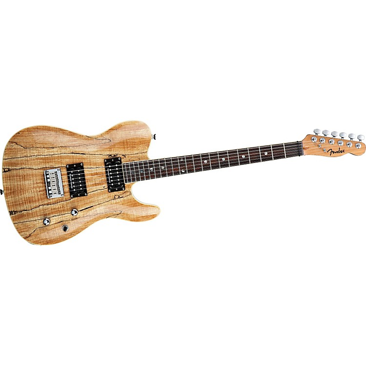 FenderSpecial Edition Custom Telecaster Spalted Maple HH Electric Guitar