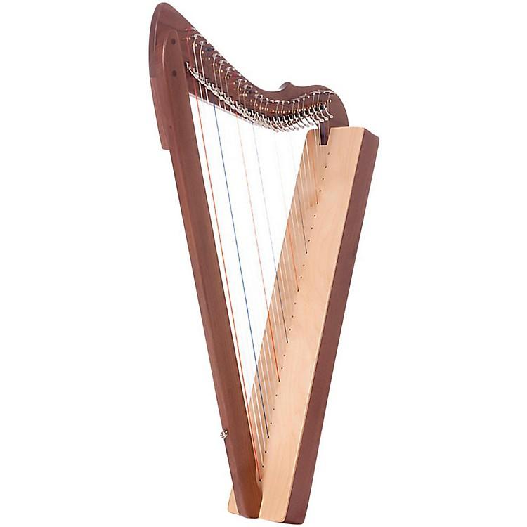 Rees HarpsSpecial Edition Fullsicle HarpWalnut
