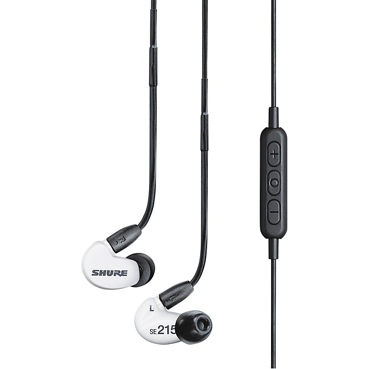 ShureSpecial Edition SE215 Sound Isolating Earphones with Bluetooth Enable Cable