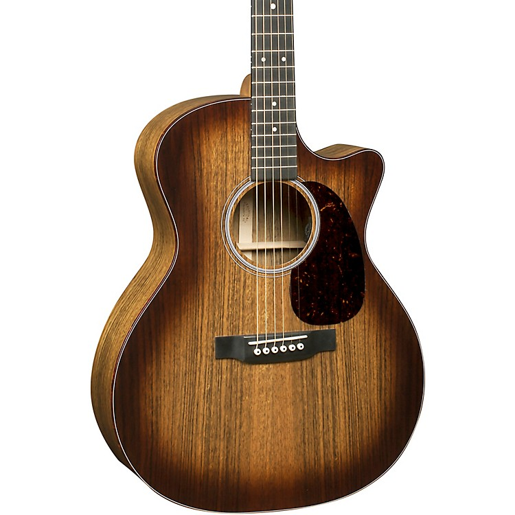 MartinSpecial Grand Performance Cutaway Performing Artist Style Ovangkol Acoustic-Electric GuitarSunburst