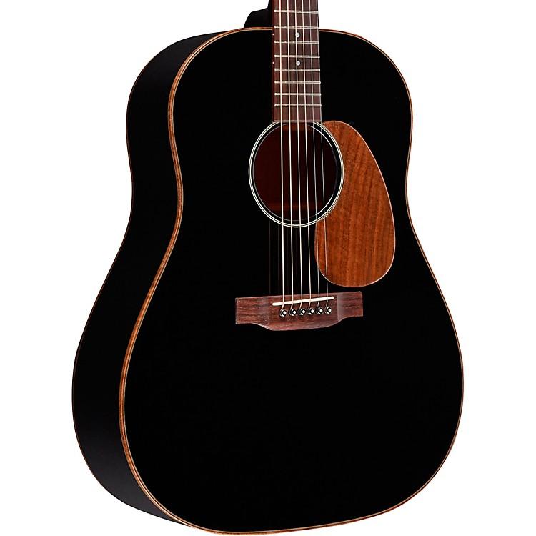 MartinSpecial Sloped Shoulder Mahogany Dreadnought with Walnut Binding Acoustic GuitarGloss Black