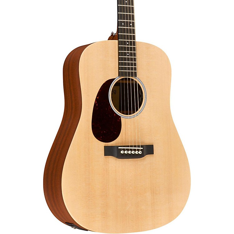 Martin Special X1AE Style Left-Handed Dreadnought Acoustic-Electric Guitar Natural